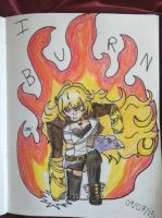 I Burn by Courage-and-Hope
