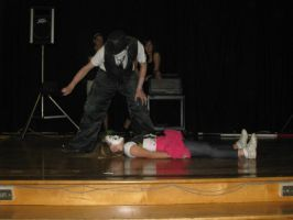 School Show 8: Think I killed her? by RockO-the-clown