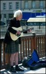A scot folk singer in Paris by DeFutura