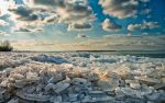 Ice blockage by Photoarus