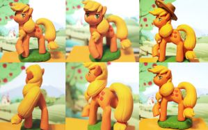 applejack figure by AplexPony