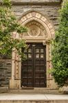 Small Church Door by Lizzie-Bitty