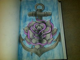 Anchor Sketch by dryoung