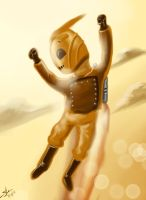 Rocketeer to the Rescue by scruffyzero