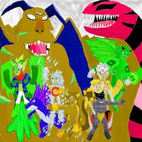 Mixel Force Ch19 by SonicAsura