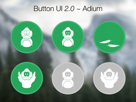 Button UI 2.0 ~ Adium by BlackVariant
