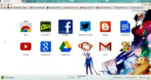 .:ROTG::Google Chrome Theme:. by xXChiharuDawnXx