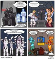 Star Wars Kinect strip by LucidARTDVC