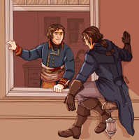 Assassin's Creed Unity | Hello there by Lazorite
