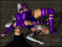 Fall Of The Heroines 2 by Rickbeast