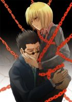 HxH - Chained (LeorioxKurapika) by akayashi