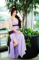 Megara perched by KoriStarfire