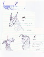 Doodles and Sketches by Lioness123