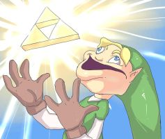 Triforce Parody RMK by ManiacPaint