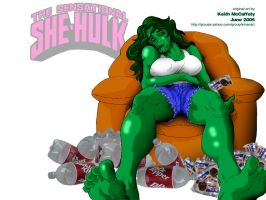 She-Hulk by Thinkbolt