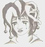 Crying Jester by FadedDreams5