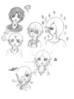 LoZ kids by Mirria1