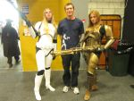 Starwars cosplay at Auckland Armageddon by arscarlet