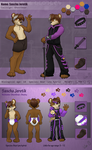 Two sides of the same coin - Refsheets 2013 by Ghostbear2k