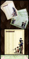 Ouran Host Club Stationery by SewDesuNe