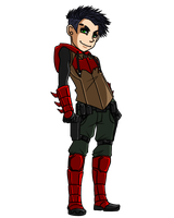 Jason Todd (Red Hood + Arsenal) by DaPandaBanda