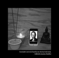 Steve Jobs Tribute by saki-senpai