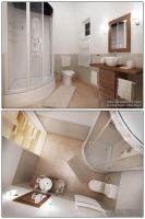 The Bathroom 5m2 by accodeum