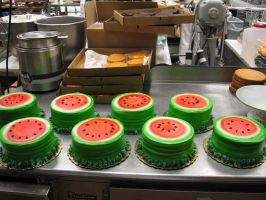 Watermelon Cakes by JNFerrigno
