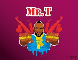 MR T by dblackhand