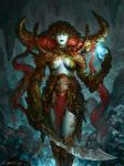 Demon Queen Of The Sea by Vablo