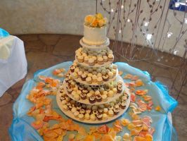 Cupcake Tower Wedding Cake by TheSugarBaby