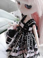 Lily's black Lolitadress by D0LL-Face