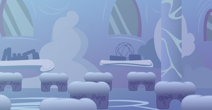 MLP Background: Cloudsdale Classroom by ColorfulCandie