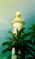 Galle Fort Lighthouse 1. Sri Lanka by jennystokes