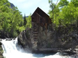 The Mill of Crystal Colorado by NosnamTakk