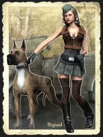 The Great Dane by Riguel3d