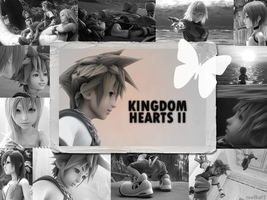 Kingdom Hearts 2 Wallpaper by coolkat2