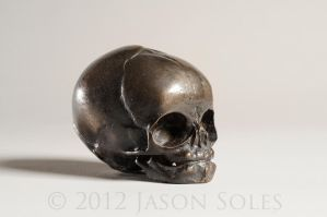 Bronze Fetus Skull by MrSoles