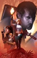 Danger girl Army of Darkness by PaulRenaud