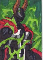 Omega Spawn's Power by ChahlesXavier