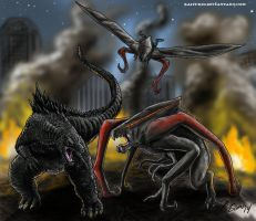 Let Them Fight by kaijukid