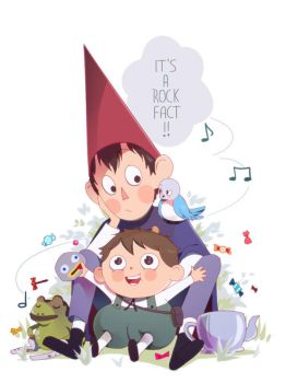Over the garden wall by ikr
