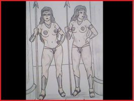 amazons sentry by lesther2011
