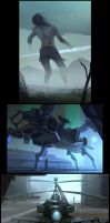Undead Giant - Achtung Panzer - Twin Blades by Hideyoshi