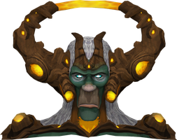 Guthix Bust - Raw Image Resource by Halfingr