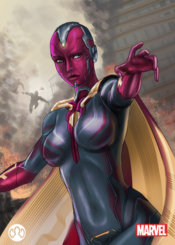Avengers 2: Vision by aerith0808