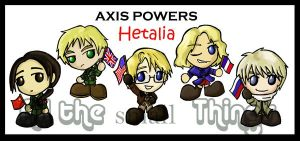 Hetalia Allied Forces Chibis by Kasandra-Callalily