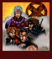 X-Men by MarcBourcier