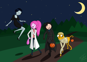 Adventure Time as Sherlock - HALLOWEEN by Silent--Haze