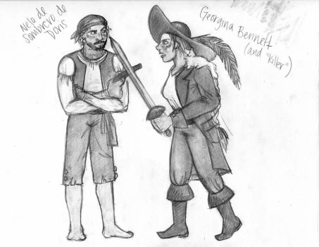 Nelo and George by Chemartist
